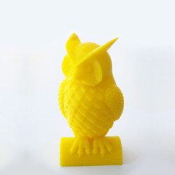 Owl in Yellow